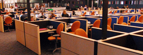 Call Center Floor