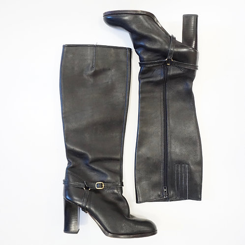 Leather Knee High Boot (8.5)