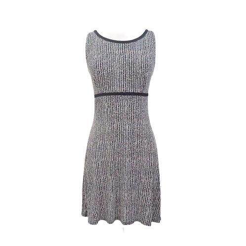 Black & White Mini Stretch Dress