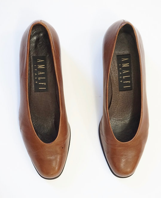 Brown Leather Pump (8)