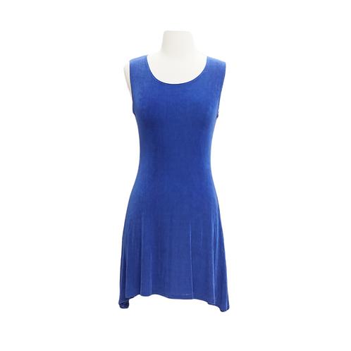 90s Blue Shift Dress
