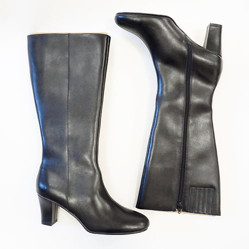 Leather Knee High Boot (10)