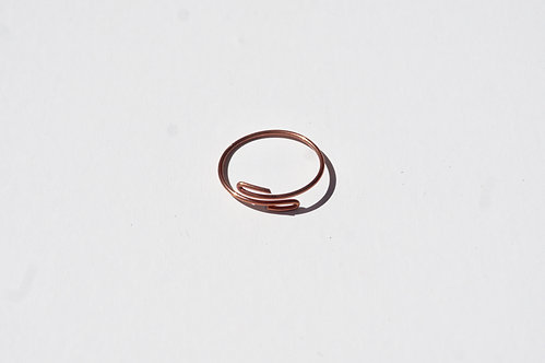 Copper Wire Wrap Ring