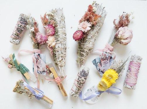 Rough Floral Sage Stick