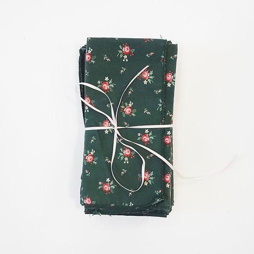 Green Floral Napkin Set (11)