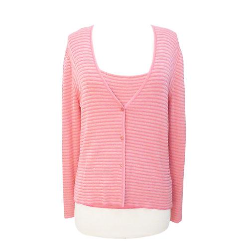 Pink Sparkle Sweater Set