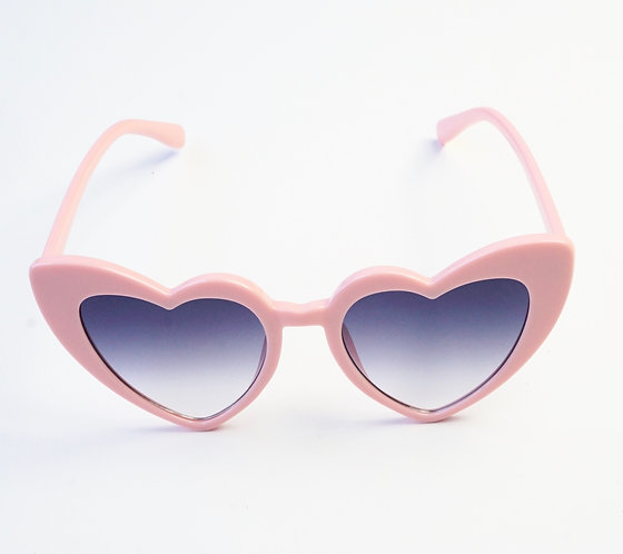 Pink and Blue Heart Sunnies