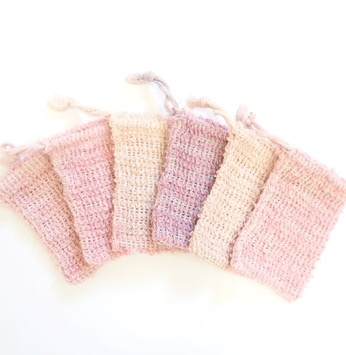 Dyed Natural Soap Pouch