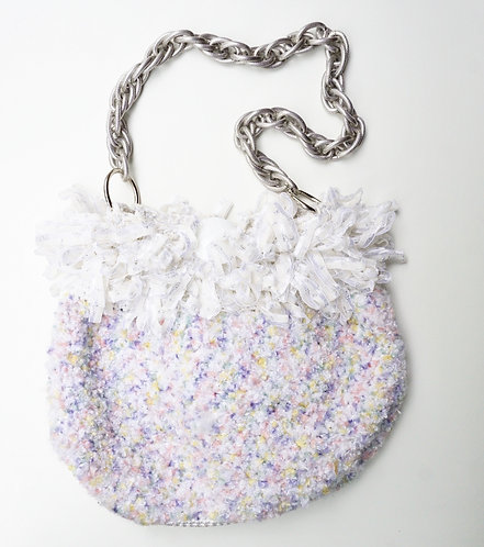 Pastel Ruffled Purse