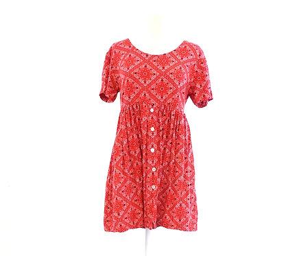 Red Bandana Dress