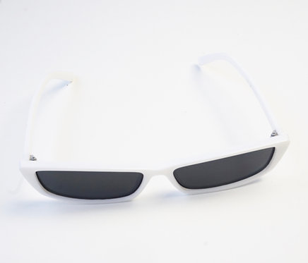 White & Grey Rectangle Sunnies