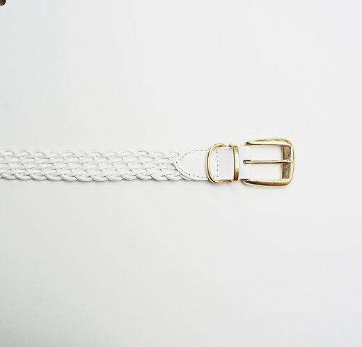 White Weave Belt