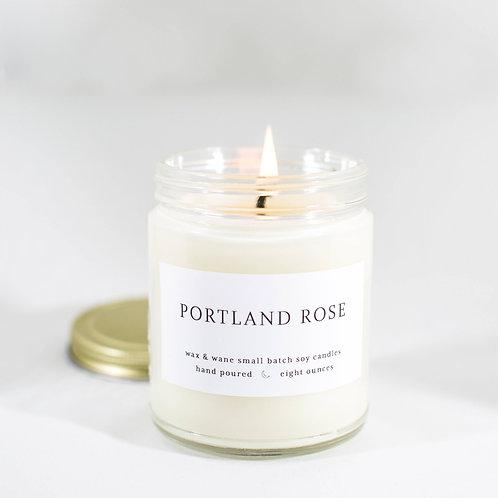 Portland Rose Candle