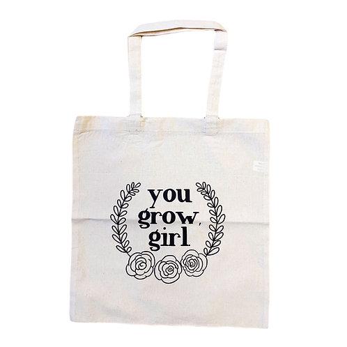 Grow Girl Market Tote