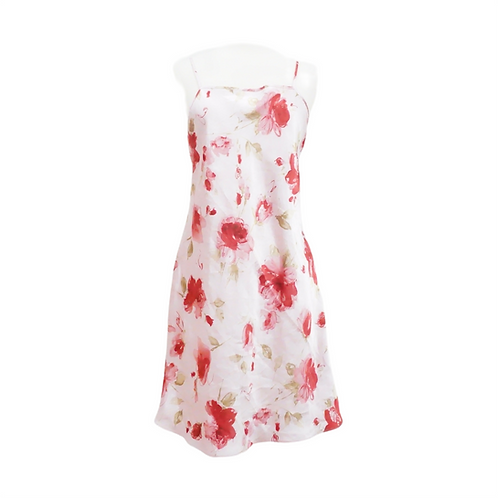 Pink Rose Slip Dress