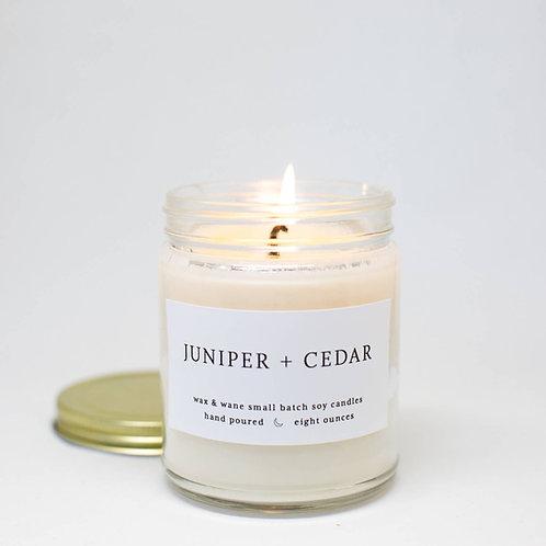 Juniper + Cedar Candle