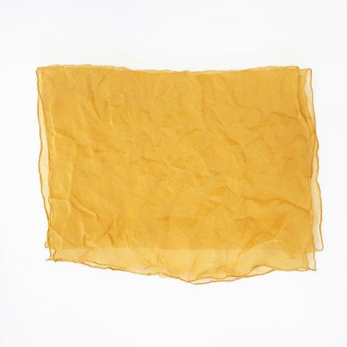 Sheer Mustard Scarf