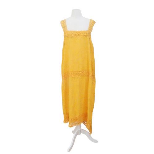 Golden Tunic Dress
