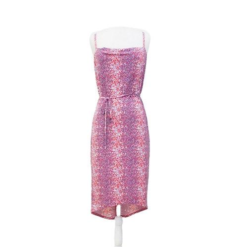 Pink & Purple Sequin Dress