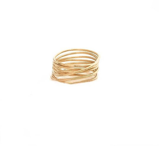Gold Multiband Ring