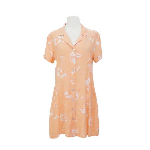 Floral Peach Day Dress