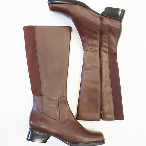 Brown Leather Riding Boot (8)