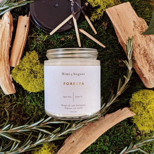Foresta Organic Soy Candle
