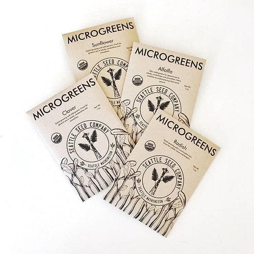 Microgreens Sampler Pack