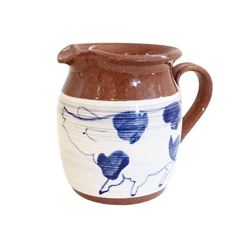 Ceramic Piggy Cream Pitcher