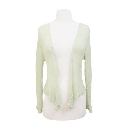 Pastel Green Shrug Sweater