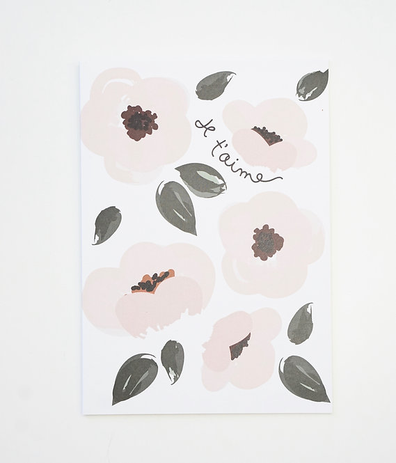 Recycled Paper Greeting Card