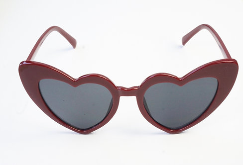 Red & Black Heart Sunnies