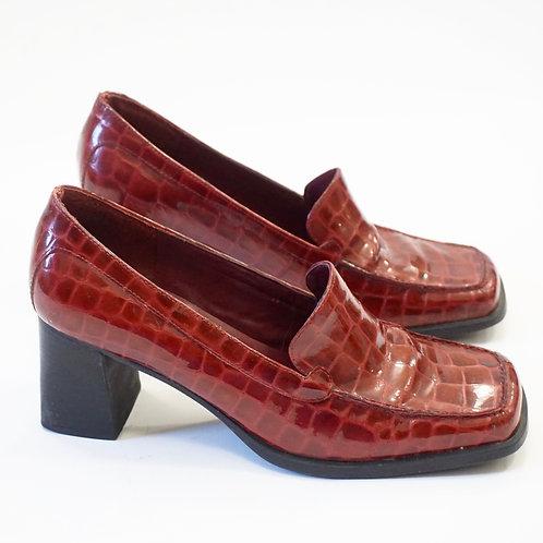 Red Croc Loafer (8.5)