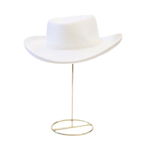 White Sequin Cowboy Hat