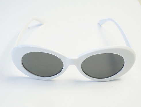 White Oval Sunnies