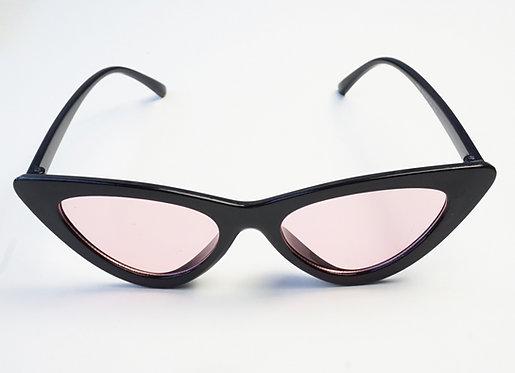 Black & Pink Cat Eye Sunnies