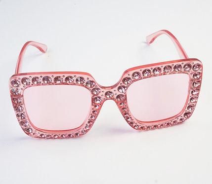 Pink Rhinestone Sunnies