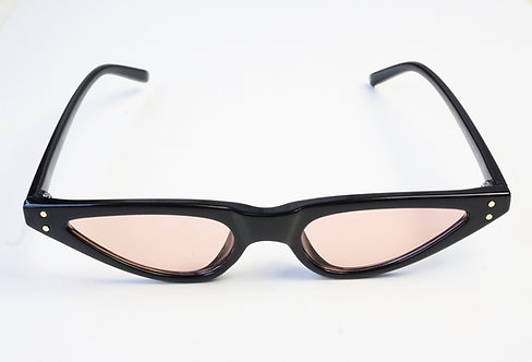 Black and Pink Modern Sunnies