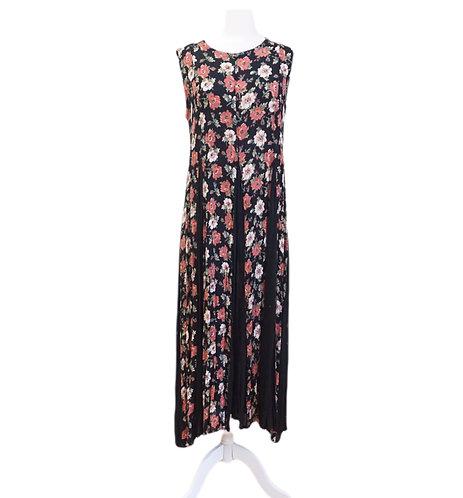 Boho Floral Long Dress
