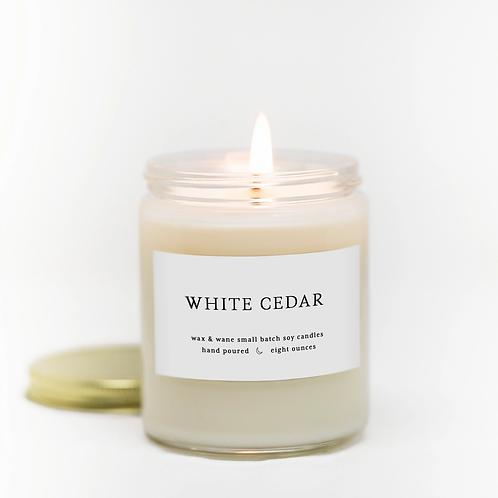 White Cedar Candle