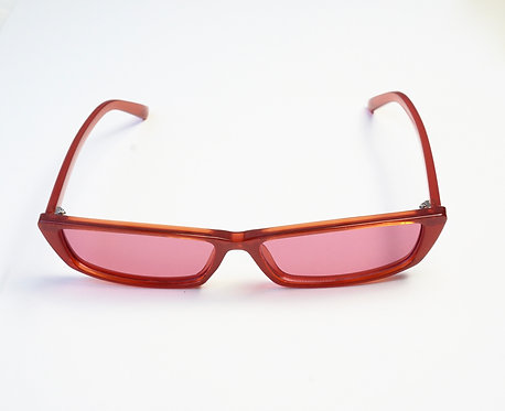 Red Rectangle Sunnies
