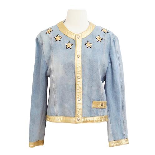 Gold Star Denim Jacket