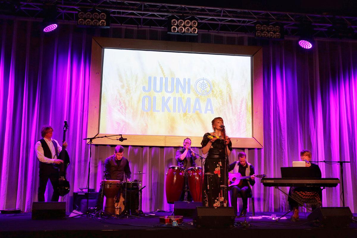 Juuni & Olkimaa, Hovin Pidot 2016