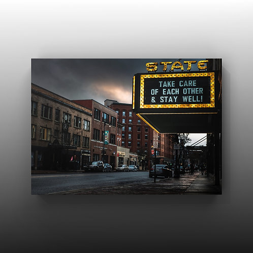 """*Limited Hand Signed & Numbered 8x12 """"State Theater"""""""