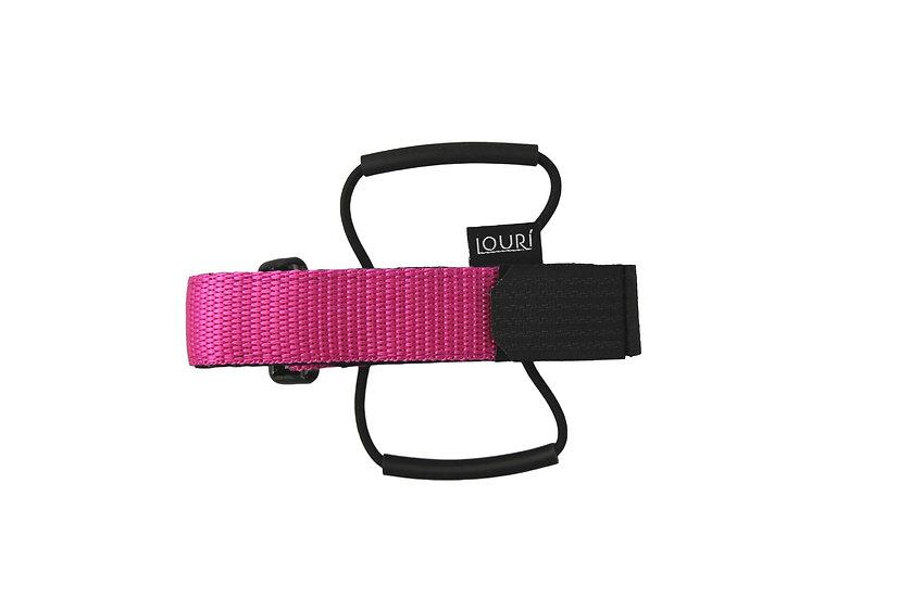 LOURI Frame Strap pink