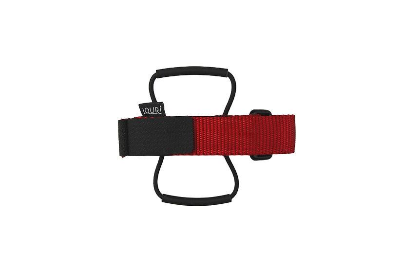 LOURI Frame Strap red
