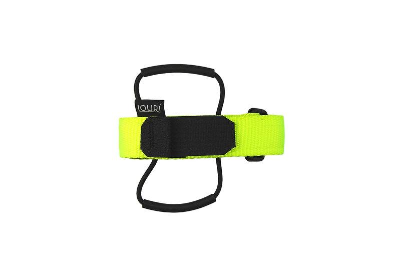 LOURI Frame Strap neon yellow