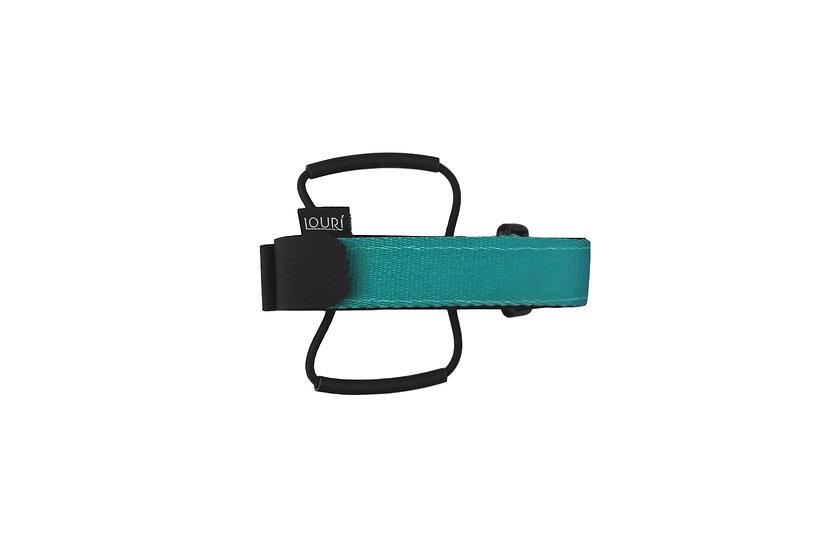 LOURI Frame Strap turquoise
