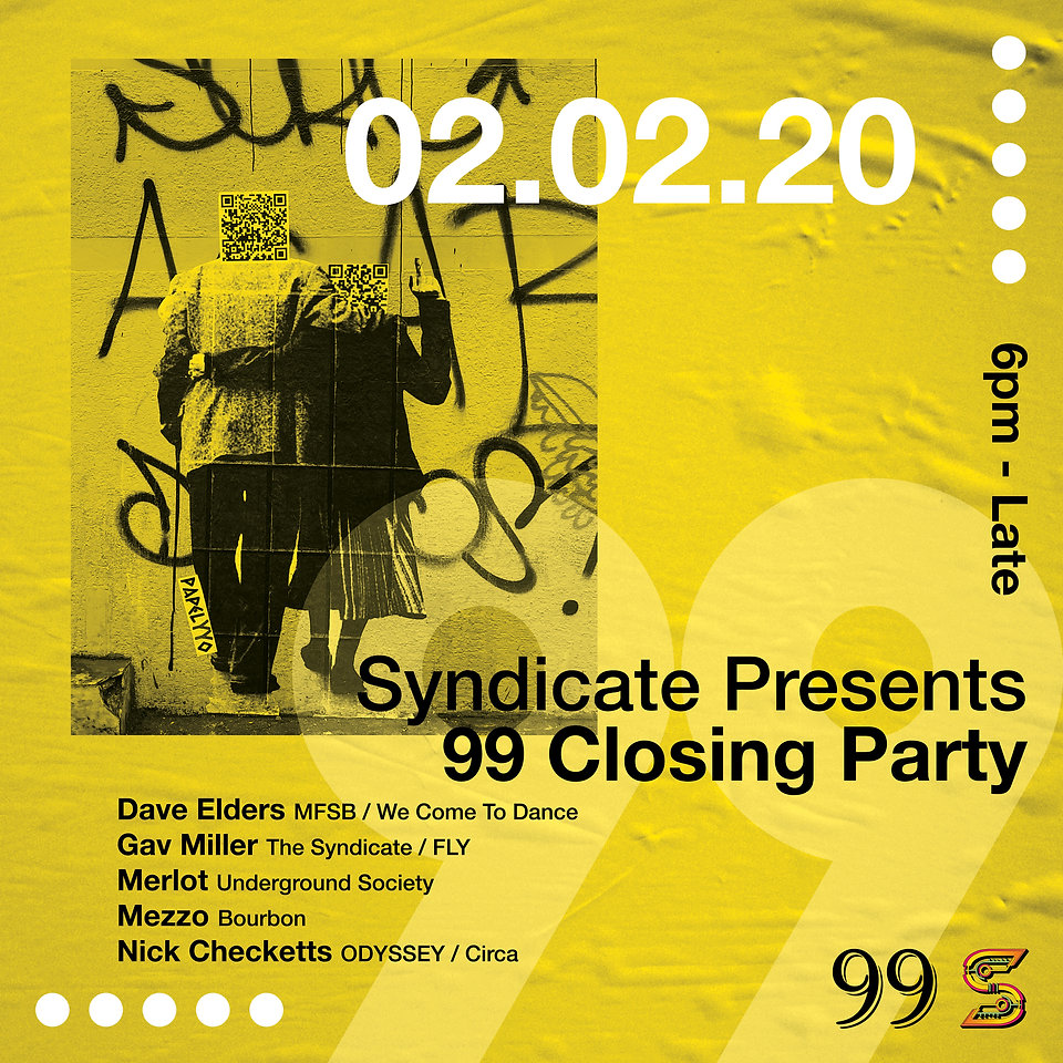 SYNDICATE 99 CLOSING PARTY SOCIAL SQUARE