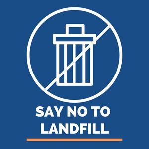 Image: Say no to landfill